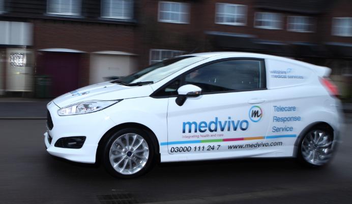 Mobile care responder car